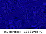 abstract wavy twisted rippled... | Shutterstock .eps vector #1186198540