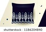 ethnic pattern design for... | Shutterstock .eps vector #1186204840