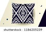 ethnic pattern design for... | Shutterstock .eps vector #1186205239