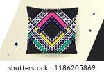 ethnic pattern design for... | Shutterstock .eps vector #1186205869