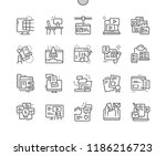 web content well crafted pixel... | Shutterstock .eps vector #1186216723