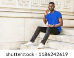 young african american college...   Shutterstock . vector #1186242619