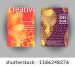 modern abstract colorful fluid... | Shutterstock .eps vector #1186248376