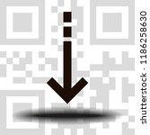 undo arrow icon  motion icon....   Shutterstock .eps vector #1186258630