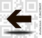 undo arrow icon  motion icon....   Shutterstock .eps vector #1186258639