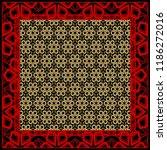 floral geometric pattern....   Shutterstock .eps vector #1186272016