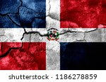 dominican republic rusted... | Shutterstock . vector #1186278859