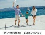 happy family having fun ...   Shutterstock . vector #1186296493