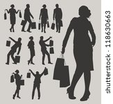 shopping | Shutterstock .eps vector #118630663