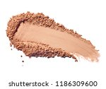 close up of face powder on... | Shutterstock . vector #1186309600