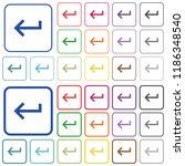 keyboard return color flat...   Shutterstock .eps vector #1186348540