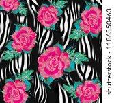 leopard pattern  leopard print  ... | Shutterstock . vector #1186350463