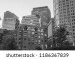 contemporary manhattan...   Shutterstock . vector #1186367839