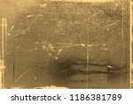 old photo texture with stains... | Shutterstock . vector #1186381789