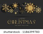 elegant christmas background... | Shutterstock .eps vector #1186399783