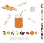 vector illustration of orange...   Shutterstock .eps vector #1186400599