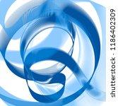blue vector pattern  geometric... | Shutterstock .eps vector #1186402309
