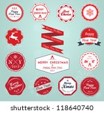 Vintage Styled Christmas And...