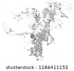 map of noumea  satellite view ... | Shutterstock .eps vector #1186411153
