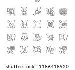 face detection technology well... | Shutterstock .eps vector #1186418920