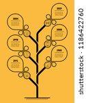 vertical business presentation... | Shutterstock .eps vector #1186422760
