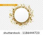 golden celebration background... | Shutterstock .eps vector #1186444723