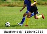 football soccer in japan   Shutterstock . vector #1186462816