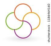 vector circle arrows... | Shutterstock .eps vector #1186464160