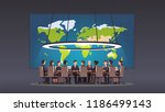 politicians or corporate... | Shutterstock .eps vector #1186499143