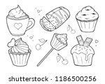 vector illustration of... | Shutterstock .eps vector #1186500256