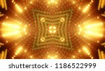 abstract kaleidescopic club... | Shutterstock . vector #1186522999