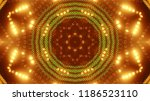 abstract kaleidescopic club... | Shutterstock . vector #1186523110