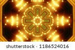 abstract kaleidescopic club... | Shutterstock . vector #1186524016