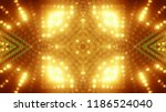 abstract kaleidescopic club... | Shutterstock . vector #1186524040