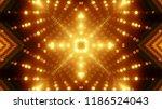 abstract kaleidescopic club... | Shutterstock . vector #1186524043