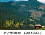 a view of steg a small village... | Shutterstock . vector #1186526683