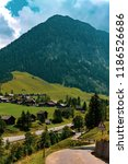 a view of steg a small village... | Shutterstock . vector #1186526686