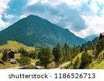 a view of steg a small village... | Shutterstock . vector #1186526713