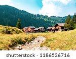 a view of steg a small village... | Shutterstock . vector #1186526716