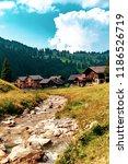 a view of steg a small village... | Shutterstock . vector #1186526719