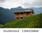 a view of steg a small village... | Shutterstock . vector #1186526866