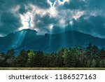 mountains in the alps seen from ... | Shutterstock . vector #1186527163
