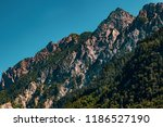 mountains in the alps seen from ... | Shutterstock . vector #1186527190