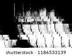 glitch overlay texture. grunge... | Shutterstock .eps vector #1186533139