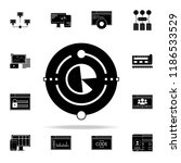 big data icon. web development... | Shutterstock .eps vector #1186533529