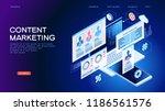 technology concept. content... | Shutterstock .eps vector #1186561576