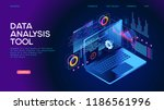 technology concept. build a... | Shutterstock .eps vector #1186561996