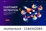 business  concept. customer... | Shutterstock .eps vector #1186562083
