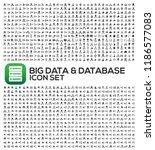 database and network vector... | Shutterstock .eps vector #1186577083