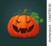 halloween  autumn vector icon.... | Shutterstock .eps vector #1186578130
